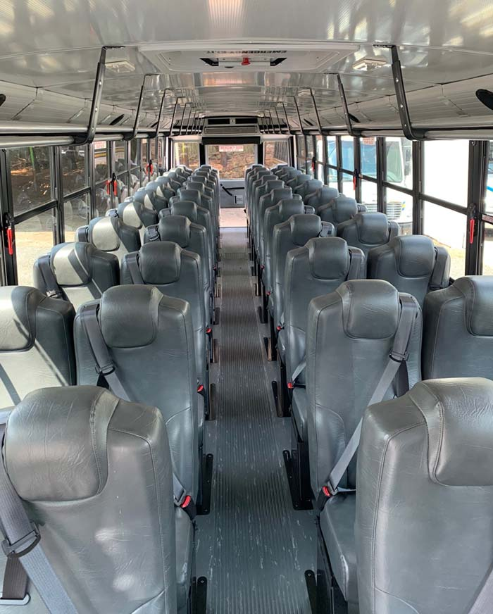 Interior of the 508 bus